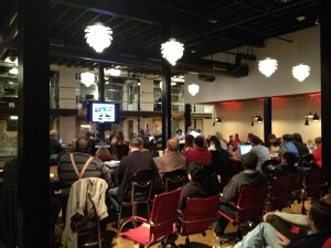 Crowd at the Raleigh SEO Meetup at Centerline Digital